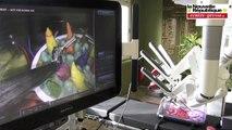 """VIDEO. Poitiers. Un robot """" chirurgien au CHU de Poitiers """""""