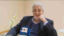 Plácido Domingo: Tengo más año pero mantengo la misma pasión por la ópera