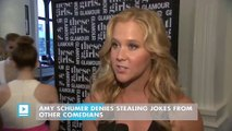 Amy Schumer denies stealing jokes from other comedians