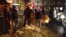 Crise agricole : face à face tendu à Quimper