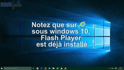 High-tech Auto : Télécharger Adobe Flash Player et l'installer sur Windows 10