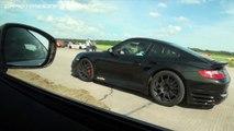 Nissan GT R Jury vs Porsche GT2 9ff vs Porsche 911 Switzer vs Nissan GT R Switzer