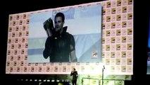 Arrow Stephen Amell Wears Green Arrow Costume San Diego Comic-Con SDCC 2015 WB DC