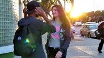 Girls Kissing Strangers! - Kissing Pranks (LESBIAN EDITION) - Kissing Pranks Girl and Girl
