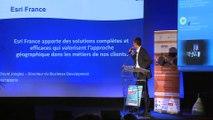 Pitch de Esri-France lors de la 3ème rencontre Openmap Numériques le 15 octobre 2015