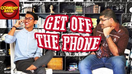 Get Off The Phone | Neal Longshanks Interviews Teji Tantra | Comedy Asia