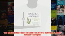Download PDF  The Natural Menopause Handbook Herbs Nutrition  Other Natural Therapies FULL FREE