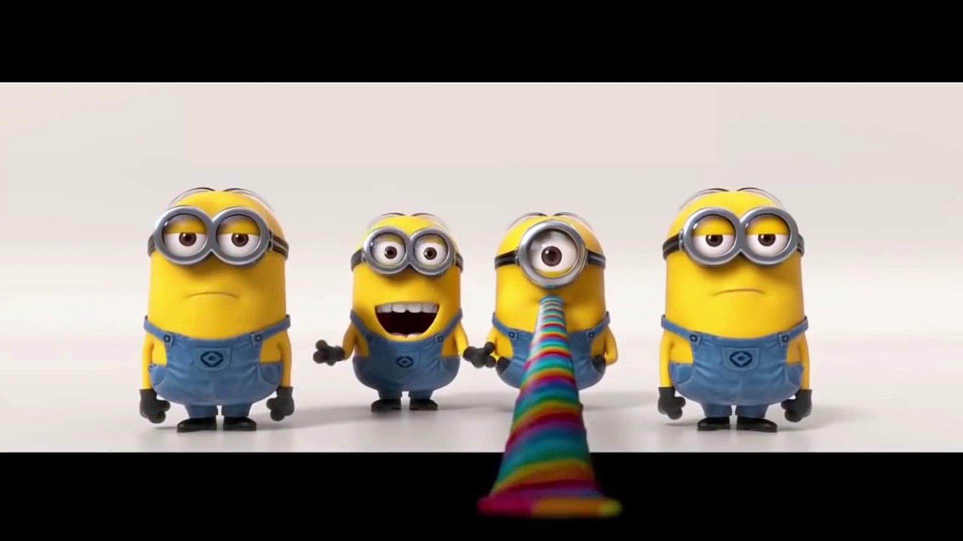 Carte Anniversaire Les Minions.Joyeux Anniversaire Happy Birthday De La Part Des Minions En Chanson