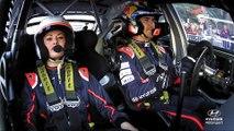 Katrina Patchett, copilote d'un jour en WRC