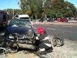 Mercedes Benz McLaren SLR Crash 2016