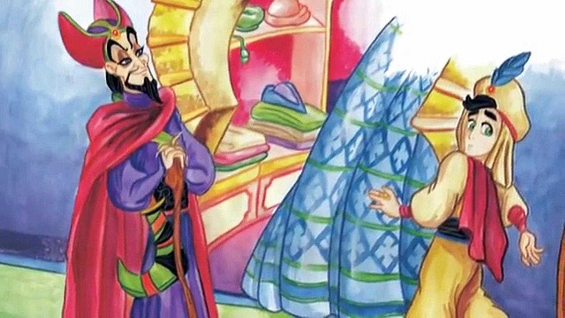 Aladino Y La Lámpara Maravillosa Cuento Infantil Dailymotion Video