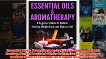 Download PDF  Essential Oils  Aromatherapy Beginners Guide to Natural Healing Weight Loss and Stress FULL FREE