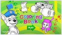 Peppa Pig Colors - Peppa Pig Painting Games - Peppa Pig Coloring Pages
