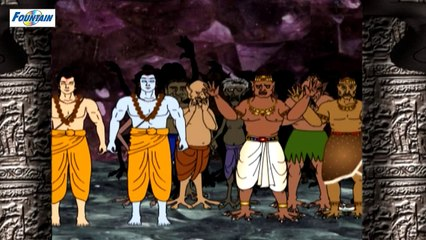 Ahi Aur Mahi Rakshasho Ka Vadh - Mahabali Hanuman - Hindi -(720p)