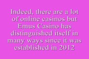 Emu casino delivers fine range of traditional casino gaming as also the modern gambling