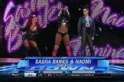 Paige & becky lynch vs Sasha banks & Naomi   Smackdown, September 17,2015
