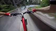 descente a velo Extreme  VIDEO camera pov HD