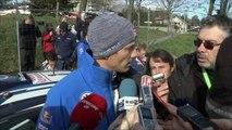 D!CI TV - Seb Ogier fait le point sur le rallye à la mi-journée