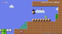 Super Mario Maker - NES Remix (Super Mario Bros 2 & Excitebike) Event Course Playthrough!