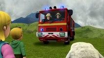 Fireman Sam: Trevors Bus On The Crumbling Cliff