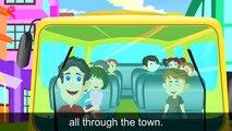 Wheels On The Bus Nursery Rhyme Wheels on the bus song Wheels on the bus go round and roud