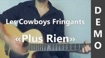Plus Rien - Les Cowboys Fringants - Cover Guitare