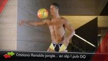Ronaldo en slip, Maradona le danseur... c'est le zap foot !