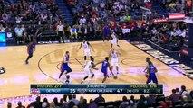 Anthony Davis Drops 32 on the Pistons