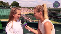 Live @ Wimbledon's Rachel Stringer meets Kaci Finch