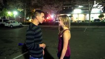 Kissing Hot Girls In Public (GONE SEXUAL) - Staring Contest Game For Kisses - Kissing Prank 2015
