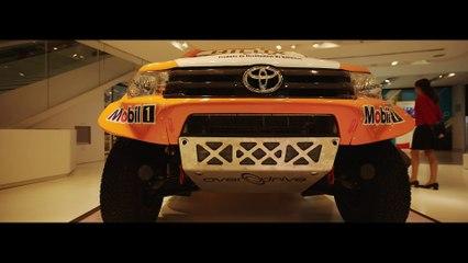 Exclusif - Toyota Hilux Dakar 2016 -