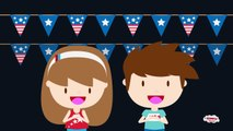 4th of July song for Kids  4th of July fireworks for Preschoolers