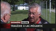 Tragédie à Lac-Mégantic : tristesse et colère dun résident