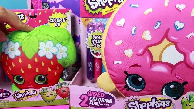 New Shopkins Color your own Backpack Surprises! Shopkins Season 1, MLP fashems, Toys Sorpr