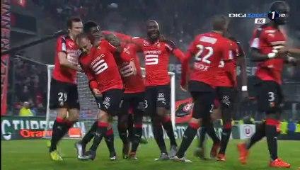 1 :: 0 Grosicki K. Goal - Rennes 1-0 GFC Ajaccio - 22-01-2016