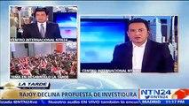 Podríamos estar a punto de ver la caída del partido de Mariano Rajoy: analista Jairo Libreros en NTN24