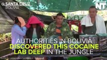 Authorities Discover Cocaine Lab In Bolivian Jungle