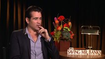 Colin Farrell Interview - Saving Mr. Banks