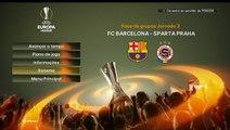 PES 2016 - UEFA Europa League(Barcelona x Sparta Praha)#3