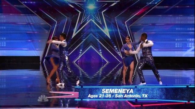 Semeneya - Americas Got Talent - June 23, 2015