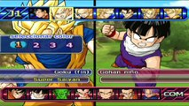 Dragon Ball Z Budokai Tenkaichi 3 : Goku Bardock Goten VS Vegeta Trunks King Vegeta - + EXTRA ! !