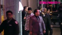 Jimmy Kimmel & Guillermo Rodriguez Leave Jimmy Kimmel Live! Studios 1.21.16