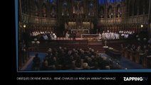 Obsèques de René Angelil : René-Charles lui rend un vibrant hommage (Vidéo)