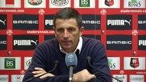 Stade Rennais 1-0 Gazélec Ajaccio : réactions de R. Courbis et T. Laurey