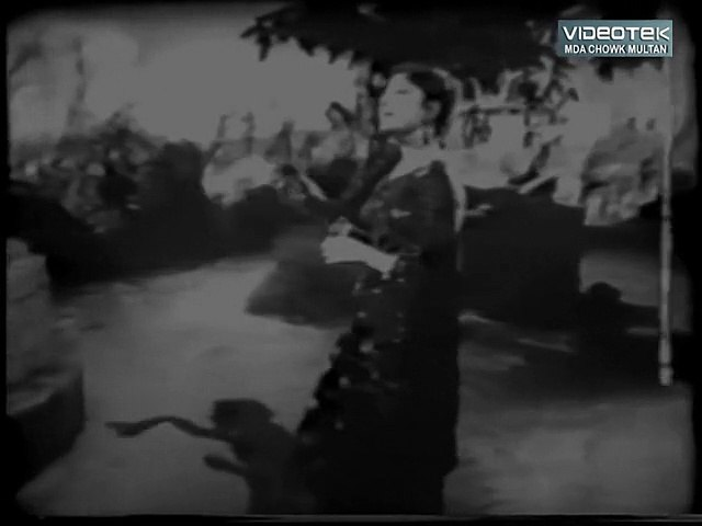 Tujh Ko Basaya Hay Nigahon - Ghar Damad  - Original DvD B/W Gems  Vol. 1