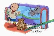 Caillou FRANÇAIS - Le t-shirt préféré de Caillou  (S01E16)