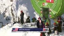 Winning run Jackie Paaso (USA) -  Vallnord Arcalís - Swatch Freeride World Tour 2016