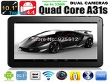 2015 Cheapest 10 inch A31s Quad Core Android 4.4 Tablet WIFI Bluetooth 1G RAM 16G/32G ROM HDMI WIFI Bluetooth-in Tablet PCs from Computer