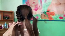tutorial hairstyles - braided bun hairstyle simple beauty to attend office party play