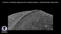 5/15/2014 EXPOSED ALIEN SHIP POSING AS A MOON OF SATURN - NASA COVERUP